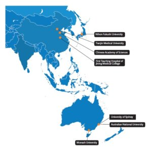Collaborators in Asia and Australia
