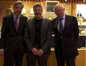 Lars Bäckman and the Af Jochnick brothers