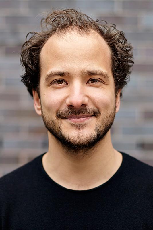 Close-up portrait of Goran Papenberg
