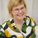 Portrait of Maria Wahlberg.