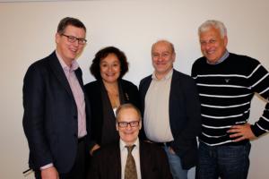 SNAC project leaders. Photo: Lena Noalt, Lund University