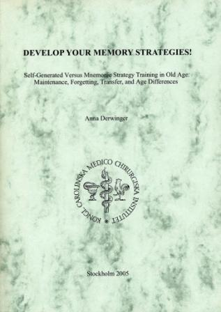 Develop your memory strategies! Self-generated versus