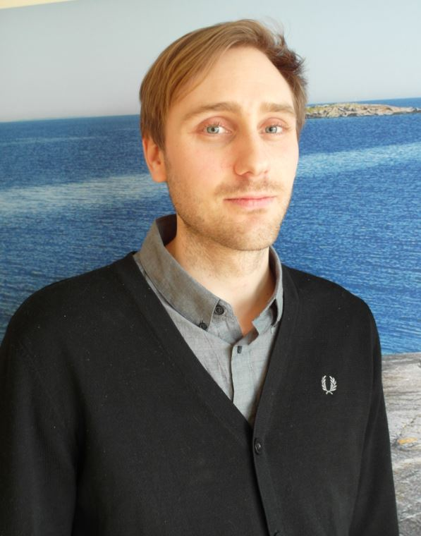 Portrait of Björn Karlsson. Photo: Maria Yohuang.