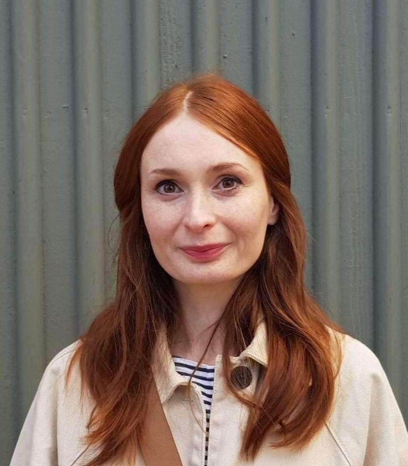 Portrait of Ingrid Ekström.