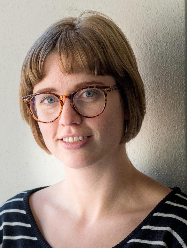 Portrait of Amy Walsh.
