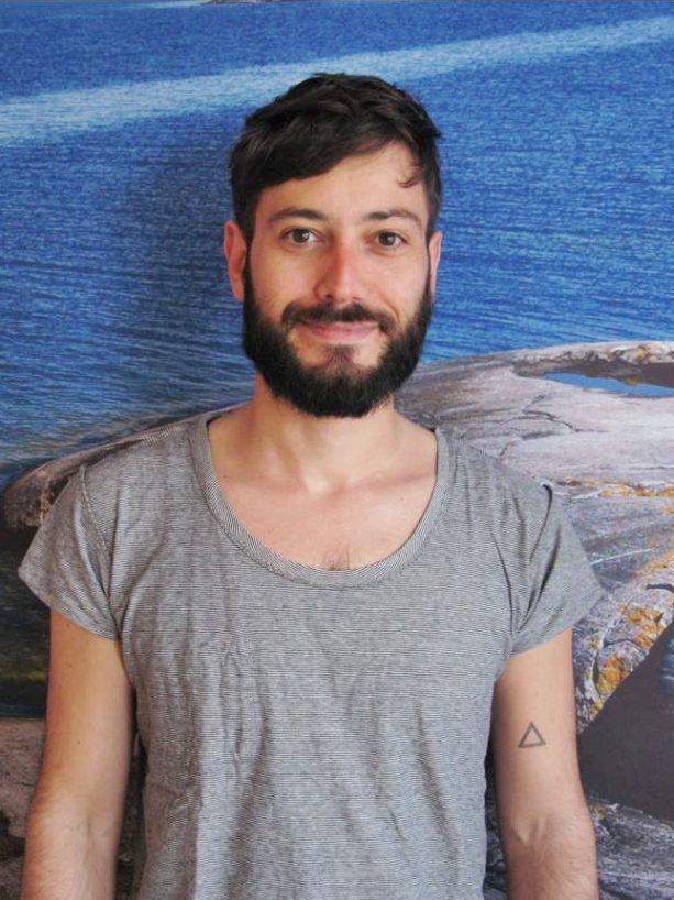 Portrait of Claudio Brozzoli taken by Maria Yohuang.