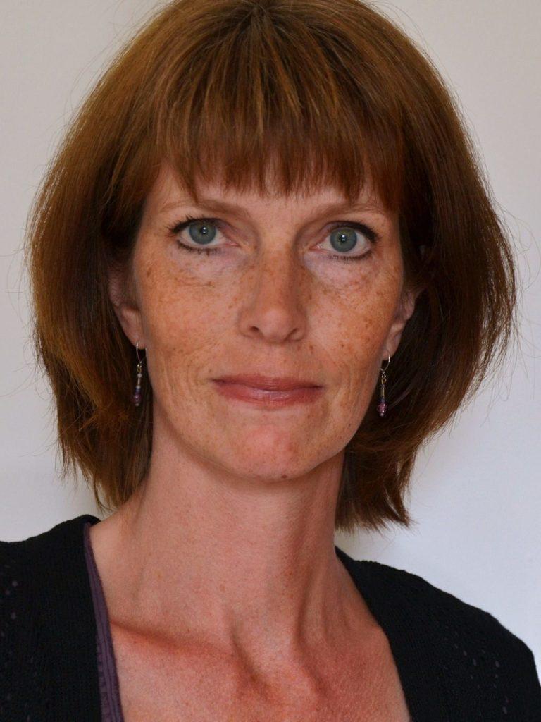 Portrait of Lena Dahlberg.