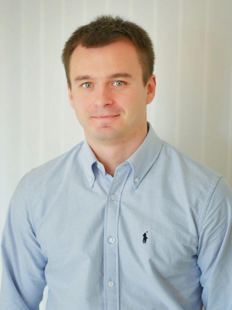 Portrait of Serhiy Dakhtyar.