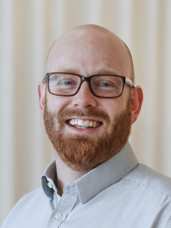 Close-up portrait of Alexander Darin Mattsson.