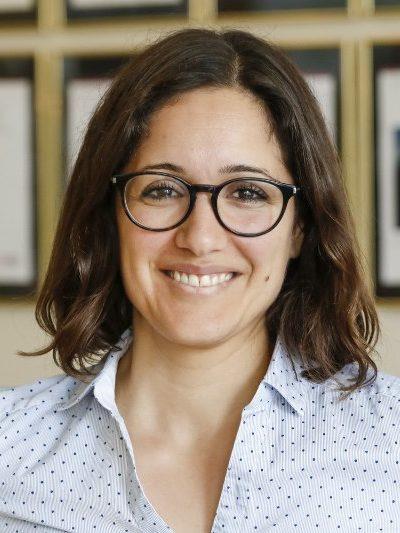 Portrait of Neda Agahi. Photo: Lucas Morin.