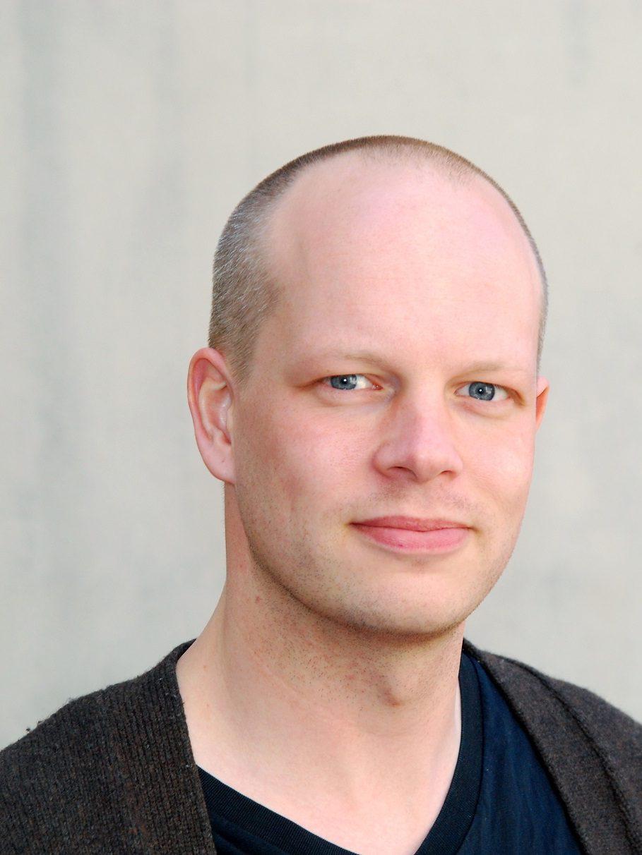 Portrait of Stefan Fors.